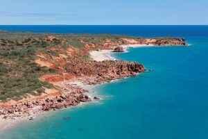 Red_rust_dirt_meets_azure_blue,_the_Kimberley