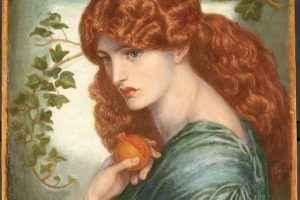 Dante Gabriel Rossetti - Proserpine