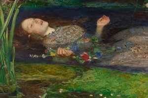 John Everett Millais' Ophelia