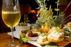 Winery platter