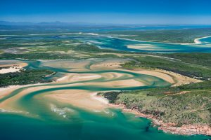 1770 - inlet at the southern end of Australia's Great Barrier Reef – luxury short breaks on a private aircraft
