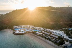 InterContinental Hayman Island - aerial view of the resort – luxury short break Queensland