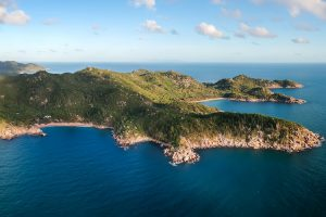 Magnetic Island - unique natural environment of hoop pines and granite boulders – luxury short breaks on a private aircraft
