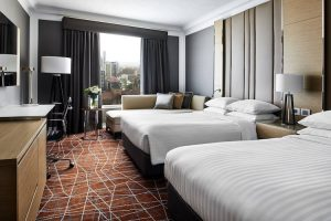 Brisbane - Marriott Hotel Guestroom – luxury short breaks on a private aircraft