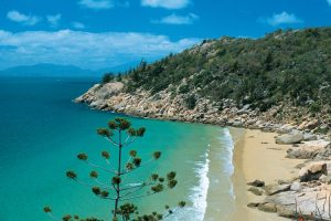 Magnetic Island - clear blue waters and quiet surrounds of Rocky Bay – luxury short breaks on a private aircraft