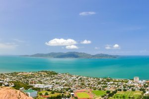 Townsville - views across to Magnetic Island - luxury short breaks on a private aircraft