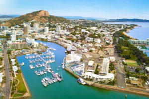 Townsville - harvour view of The Strand and Castle Hill – luxury short breaks Queensland