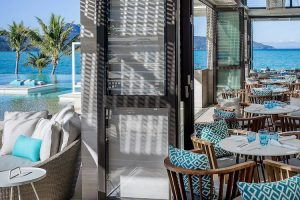 Hayman Island - InterContinental Hayman Island Resort pool and restaurant – luxury short breaks on a private aircraft