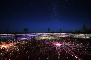 Northern Territory - Field of light installation - Luxury outback tour