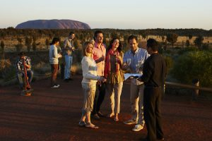 Uluru - Cocktails at Sounds of Silence dinner - Luxury Private Air Tour Australia