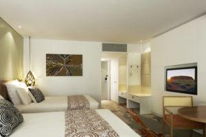 Ayres Rock - Voyages Hotel Room - Bill Peach Journeys