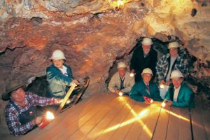 Tennant Creek, Northern Territory - Battery Hill Mining Centre, exploring underground - Luxury Private Australian Air Tour