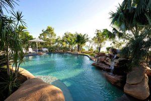 Groote Eylandt - Lodge swimming pool - Luxury Private Australian Air Tour