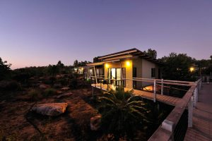 Groote Eylandt - Sunset rooms at night - Luxury Private Australian Air Tour