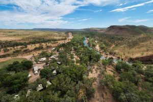 El Questro - aerial view of the station - Luxury Private Kimberley Air Tour