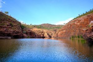 El Questro - explosion gorge cliff faces - Luxury Private Kimberley Air Tour