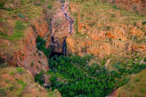 El Questro - helicopter tour the best way to chase waterfalls - Luxury Private Kimberley Air Tour