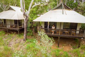 El Questro - enjoying the view from the river view cabins - Luxury Private Kimberley Air Tour