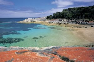 Flinders Island - breath-taking secenery of Trousers Point - Luxury Private Air Tour Tasmania
