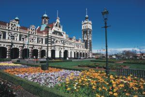 Dunedin - Train Station - Bill Peach New Zealand