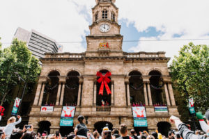 Adelaide - Town Hall Christmas carollers and celebrations - luxury short breaks South Australia