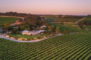 Fleurieu Peninsula - Cariole Vineyard beautiful destination for a winery lunch - luxury short breaks South Australia