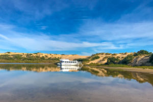 Coorong National Park - cruise the world renowned wetlands where river meets the sea - luxury short breaks South Australia