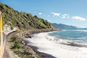 New Zealand - Coastal Pacific South Island train - Luxury train journeys