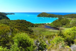 Abel Tasman National Park - views over Torrent Bay - Luxury short breaks New Zealand