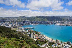 Wellington - capital of New Zealand on the harbour - Luxury train journeys
