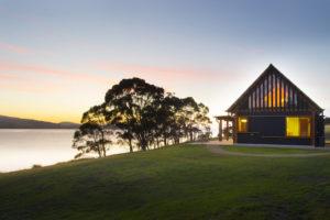 Huon Valley - award-winning architectural Coast House - Luxury short breaks Australia