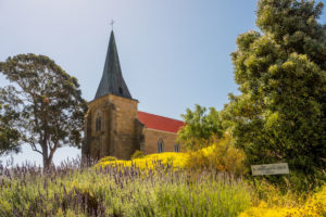 Huon Valley - St John the Evangelist Catholic Church - Luxury short breaks Tasmania
