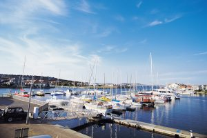 Port Lincoln - fishing boats on the harbour - luxury short breaks South Australia