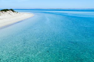 Coffin Bay - white sand beaches and azure waters - luxury short breaks South Australia