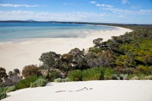 Coffin Bay - views along the coastline - - luxury short breaks South Australia