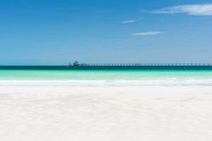 Port Lincoln - long jetty of Flinders Port - luxury short breaks South Australia