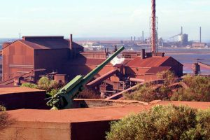 Whyalla - Whyalla Steelworks factory - luxury short breaks South Australia