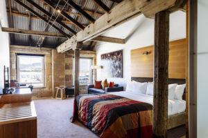 Hobart - Henry Jones Art Hotel room with harbour view - Luxury Short Breaks Australia