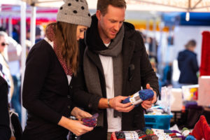 Hobart - exploring the Salamanca Markets - Luxury Short Breaks Australia