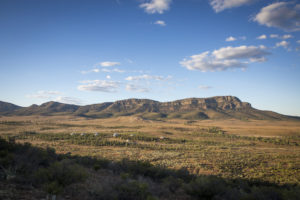 Flinders Ranges – the view from Rawnsley Park Station – luxury accommodation in the Flinders Ranges