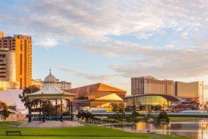 Adelaide – city at sunrise – Luxury Short Break South Australia