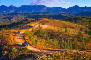 Flinders Ranges – ancient and rugged Bunyeroo Valley – Outback Australia Flinders Ranges