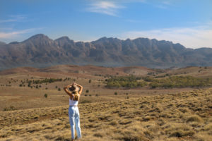 Flinders Ranges – 360 degree views of the Flinders Ranges from Stokes Hill Lookout – Outback Australia Luxury Short Breaks