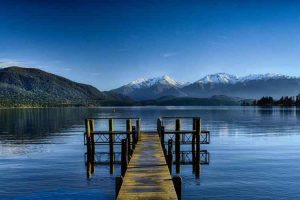 Lake Te Anau - base for glacier-carved wilderness in the Fiordland National Park - Luxury solo tours