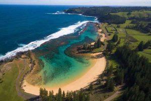 Norfolk Island - Emily Bay beach - luxury short breaks