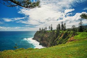 Norfolk Island - Coast on a clear day - Luxury Short Break