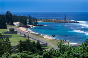 Norfolk Island - View of Kingston Beach - Luxury Short Break