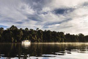 Corina - Pieman River Cruise - luxury short breaks Tasmania