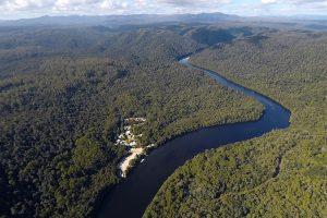 Corinna - wilderness experience in Pieman River State Reserve - luxury short breaks Tasmania