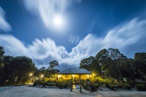 Corinna - wilderness Experience accommodation - luxury short breaks Tasmania